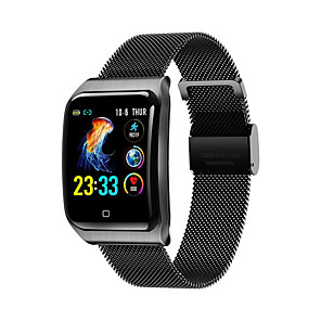 cheap Smartwatches-KUPENG kf9 Unisex Smartwatch Smart Wristbands Android iOS Bluetooth Waterproof Heart Rate Monitor Sports Exercise Record Information Pedometer Call Reminder Activity Tracker Sleep Tracker Sedentary