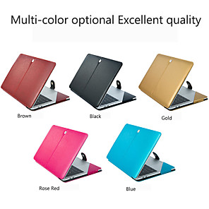 cheap Mac Accessories-MacBook Case / Sleeves Solid Colored PU Leather for Macbook Air 11-inch / New MacBook Pro 15-inch / New MacBook Pro 13-inch