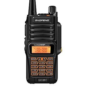 cheap Mobile Signal Boosters-Baofeng UV-9R Plus Waterproof Walkie Talkie 8W  8000 mAh Two Way Radio Dual Band Handheld 10km long range UV9R CB Ham portable Radio
