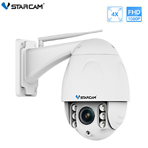 cheap Indoor IP Network Cameras-VStarcam Wireless PTZ Dome IP Camera Outdoor 1080P FHD 4X Zoom CCTV Security Video Network Surveillance Security IP Camera Wifi