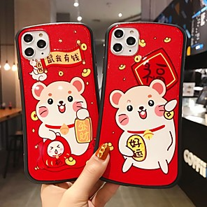 cheap iPhone Cases-Case For Apple iPhone 11 / iPhone 11 Pro / iPhone 11 Pro Max Shockproof Back Cover Cartoon TPU / PC