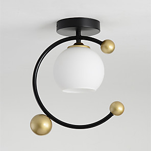 cheap Ceiling Lights-1-Light Contracted Contemporary Nordic Style Porch Enters Garden South Corridor Living Room Lamp Originality Hall Cloakroom