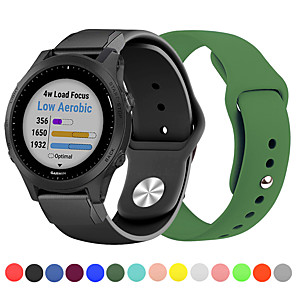 cheap Smartwatch Bands-Quick Release Easy fit Sport Silicone Watch Band For Garmin Fenix 6 Pro / Fenix 5 Plus / Approach S60 / Forerunner 935 / Quatix5 Sapphire Bracelet Wrist Strap Wristband