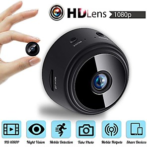 cheap Micro Cameras-MINI Wireless Camera 32G TF Card HD APP 25fps P2P IP WIFI Camera 1080P Night Vision Motion Detection 2 mp Security IP Camera Indoor Support 64 GB / CMOS / 50 / 60 / iPhone OS / Android
