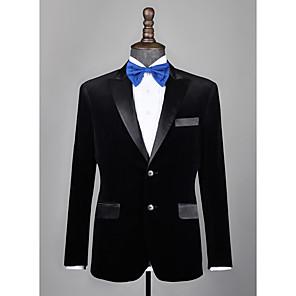 cheap Custom Tuxedo-Black velvet custom tuxedo