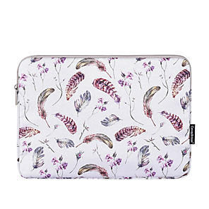 cheap Sleeves,Cases & Covers-13.3 Inch Laptop / 14 Inch Laptop / 15.6 Inch Laptop Sleeve Polyester Lines / Waves for Men for Women for Business Office Water Proof Shock Proof