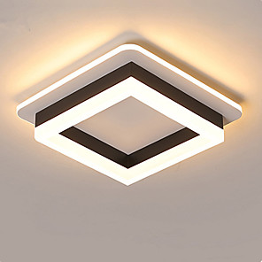 cheap Dimmable Ceiling Lights-2-Light Nordic Minimal Corridor Lamp Corridor Lamp Kitchen Entrance Hall Porch Balcony Lamp Circular Ceiling Lamp Household Lamp D