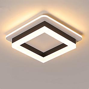 cheap Spot Lights-2-Light Nordic Minimal Corridor Lamp Corridor Lamp Kitchen Entrance Hall Porch Balcony Lamp Circular Ceiling Lamp Household Lamp D