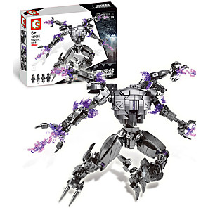 cheap Building Blocks-Building Blocks 972 pcs Robot compatible ABS+PC Legoing Simulation All Toy Gift / Kid's