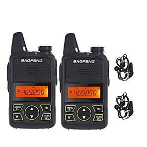 halpa Radiopuhelimet-BAOFENG Analoginen Hälytysjärjestelmä / Virransäästötoiminto / Äänikehote 5KM-10KM 5KM-10KM 1500 mAh 5 W Radiopuhelin Kaksisuuntainen radio
