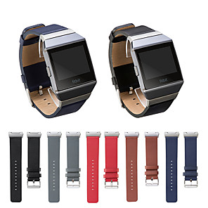 cheap Smartwatch Bands-Watch Band for Fitbit ionic Fitbit Leather Loop Genuine Leather Wrist Strap