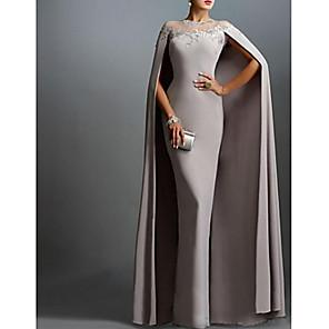 cheap Maxi Dresses-Women's Maxi Swing Dress - Sleeveless Solid Colored Basic Gray S M L XL