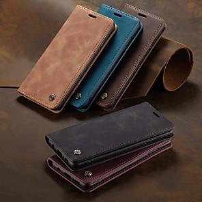 cheap Samsung Case-Funda magntica CaseMe para Samsung Galaxy S10 funda Retro de cuero para Galaxy S10 e S9 S8 Plus S7EDGE
