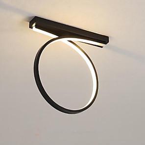 cheap Spot Lights-1-Light Nordic Modern Simple Corridor LED Ceiling Lamp Corridor Porch Lamp Balcony Lamp Stair Hall Lamp Entrance Lamp 24W