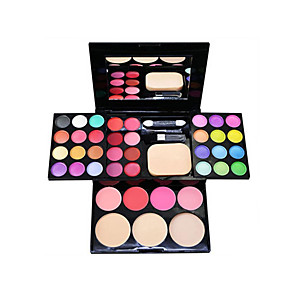 cheap Eyeshadows-39 Colors Eyeshadow Palette Eye Multilayer Daily Makeup Party Makeup Fairy Makeup Cosmetic Gift