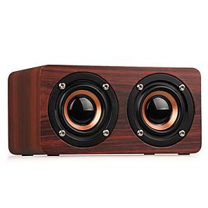 cheap Soundbar Speaker-WOODEN WIRELESS BLUETOOTH SPEAKER PORTABLE HIFI SHOCK BASS ALTAVOZ TF CAIXA DE SOM SOUNDBAR FOR IPHONE SUMSUNG XIAOM