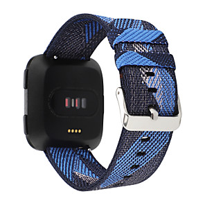 cheap Smartwatch Bands-Watch Band for Fitbit Versa / Fitbi Versa Lite / Fitbit  Versa 2 Fitbit Sport Band / Classic Buckle Fabric Wrist Strap