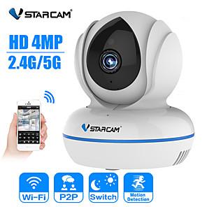 cheap Outdoor IP Network Cameras-Vstarcam IP Camera C22Q 4MP IP Camera 2.4G/5G Wifi Camera IR Night Vision Motion Alarm Video Surveillance Security Camera H.265