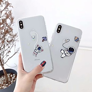 cheap iPhone Cases-Case for Apple scene map iPhone 11 X XS XR XS Max 8 cute cartoon pattern high transparent thickened TPU material all-inclusive mobile phone case GJD