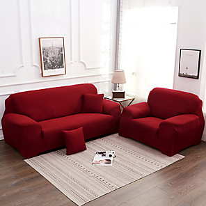 cheap Sofa Cover-2020 High Quality Pure Color New High Elastic Skin-friendly Comfortable Dust-proof Sofa Cover Sofa Cover