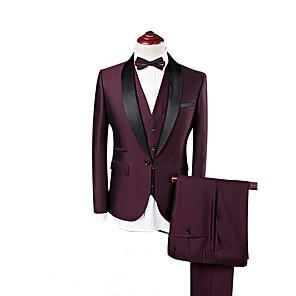 cheap Custom Tuxedo-Burgundy custom tuxedo