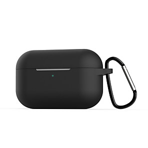 cheap TWS True Wireless Headphones-Headphone Carry Bag Simple Style Apple Airpods 2 Apple Airpods Pro Shockproof Scratch-proof Silicon Rubber