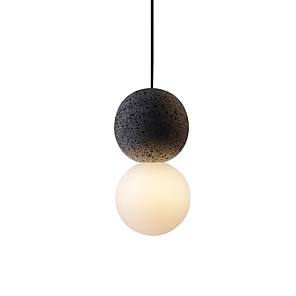 cheap Indoor Wall Lights-1-Light 10 cm Pendant Light Globe Painted Finishes Nordic Style 110-120V / 220-240V