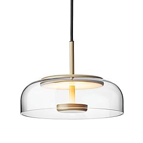 cheap Pendant Lights-1-Light 23 cm Pendant Light Glass Geometrical Painted Finishes Nordic Style Generic