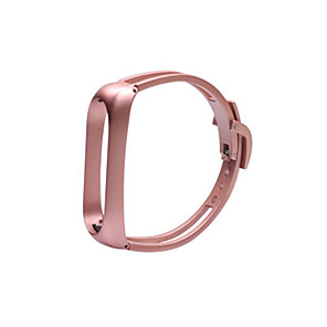 cheap Smartwatch Bands-Watch Band for Mi Band 3 / Xiaomi Mi Band 4 Xiaomi Jewelry Design Stainless Steel Wrist Strap Bracelet Mirror Design