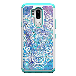 cheap Other Phone Case-Case For LG LG V40 / LG Stylo 4 / LG Stylo 5 Shockproof / Pattern Back Cover Animal / Tree / Flower PC