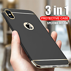 cheap iPhone Cases-Case For Apple iPhone 11 / iPhone 11 Pro / iPhone 11 Pro Max Shockproof / Ultra-thin Full Body Cases Solid Colored PC