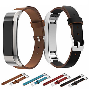 cheap Dog Clothes-Watch Band for Fitbit Alta HR / Fitbit Alta Fitbit Classic Buckle / Business Band Genuine Leather Wrist Strap