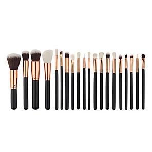 cheap Makeup Brush Sets-Miyaup 20 eye professional makeup brush sets pink and black cosmetic tools eye shadow brush.