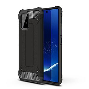 cheap Samsung Case-Case For Samsung Galaxy A91 / A81 / A71 / A51 Shockproof Rugged Hybrid Armor Phone Case for Samsung Galaxy A70S/ A50S/ A40S/A30S / A20S / A10S / A70 / A60 /A50 /A40 /A30 /A20 /A10
