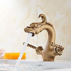 povoljno Kuhinjski sudoperi-Slavina za tuš set - Tuš s kišnim mlazom Suvremena Zidne slavine Keramičke ventila Bath Shower Mixer Taps