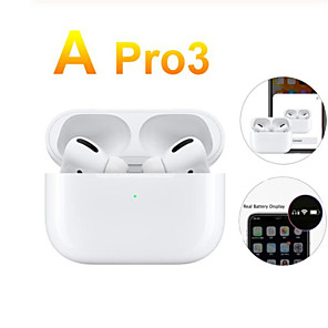 cheap Smartwatches-NEW Original Air 3 TWS Pro Wireless Bluetooth Headsets Headphones 1:1 Smart Sensor Blackpods Earbuds 8D Hi-Fi Stereo Headphones Airpodding  Touch for Elair Fone