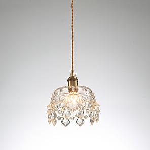cheap Pendant Lights-1-Light 19 cm Mini Style Pendant Light Copper Mini Electroplated Artistic / Chic & Modern 110-120V / 220-240V
