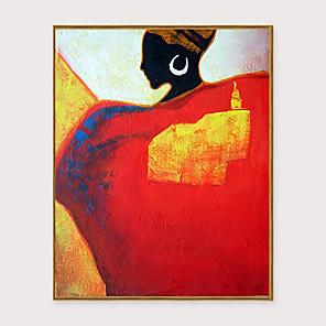 cheap Framed Arts-Framed Art Print Framed Set - People PS Oil Painting Wall Art