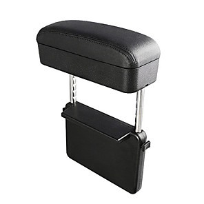 cheap Car Organizers-Car Armrest Box Elbow Support Adjustable Car Seat Gap Organizer Arm Rest Box for Cars Auto Accessories Armrest Cushion Universal