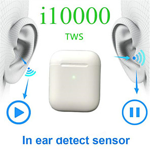 cheap TWS True Wireless Headphones-LITBest i10000 TWS True Wireless Earbuds Wireless Earbud Bluetooth 5.0 Noise-Cancelling Stereo Dual Drivers