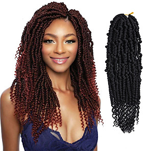 cheap Synthetic Lace Wigs-Crochet Hair Braids Mineral Box Braids Natural Color Synthetic Hair 18 inch Braiding Hair 6-Pack / There are 24 roots per pack. Normally five to six pack are enough for a full head.