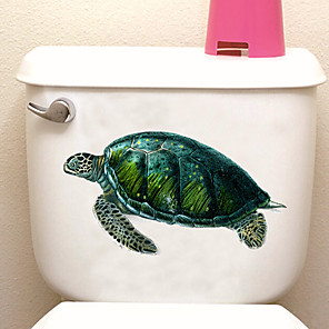 cheap Wall Stickers-Toilet Stickers - Animal Wall Stickers Animals Bathroom / Indoor