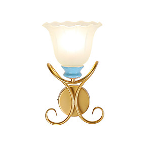 cheap Indoor Wall Lights-American Hardware Wall Lamp/corridor Lamp Simple Creative Study Lamp Bedroom Lamp Atmospheric Duplex Villa Tieyi Lamps