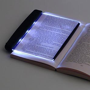 cheap Radio-LED Book Light Reading Night Light Eyes Protective Lamps Flat Plate Portable Led Desk Lamp for Home Indoor Kids Desk Lamp