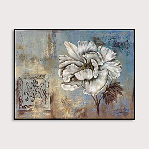 cheap Framed Arts-Framed Art Print Framed Set - Floral / Botanical PS Oil Painting Wall Art