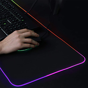 cheap Gaming Headsets-Gaming mouse pad / Luminous mouse pad 40*45 cm Rubber / Cloth 40*45