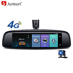 cheap Car DVR-Junsun K756 2G 32G Car Special Mirror DVR Camera 4G Android 7.84 ADAS Bluetooth Full HD 1080P Video Recorder dash cam Rearview Mirror