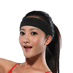 cheap Fitness Gear & Accessories-HeadBand 1 pcs Sports Silicon Cotton Yoga Exercise & Fitness Bodybuilding Durable Sweat Control For Men Women