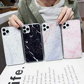 cheap iPhone Cases-Case For Apple iPhone 11 / iPhone 11 Pro / iPhone 11 Pro Max Shockproof Back Cover Marble TPU