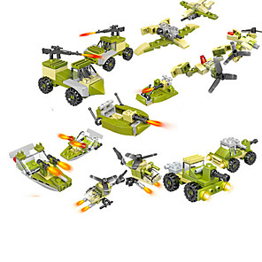 cheap Building Blocks-Building Blocks 30 pcs Military compatible ABS+PC Legoing Simulation Military Vehicle All Toy Gift / Kid's